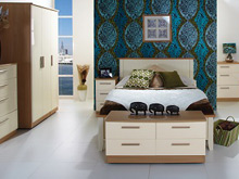 Welcome Furniture bedroom range at North Wales Beds