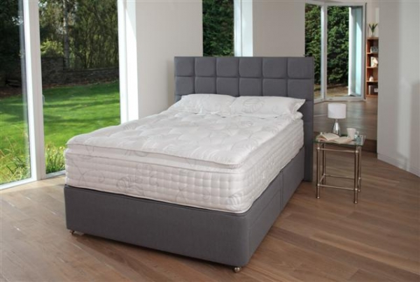 Elegance padded top divan set