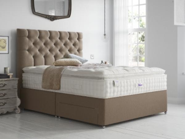 Natural Luxury Silk 2850 F.E Sprung Divan Set