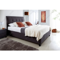 Accent ottoman storage bed
