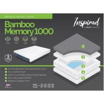 Bamboo Memory 1000 Mattress