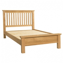 Double Sienna Oak Bedstead