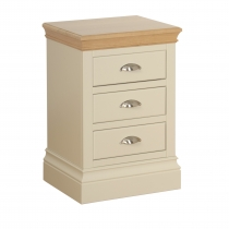 Lundy 3 drawer bedside cabinet
