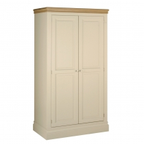 Lundy Double Wardrobe