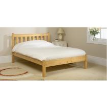 Shaker solid pine bedframe