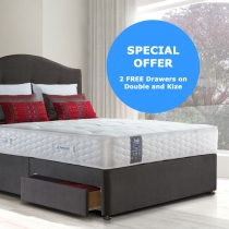 SPECIAL OFFER Millionaire Ortho Platform Top Divan Set