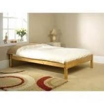 Studio solid pine bedframe